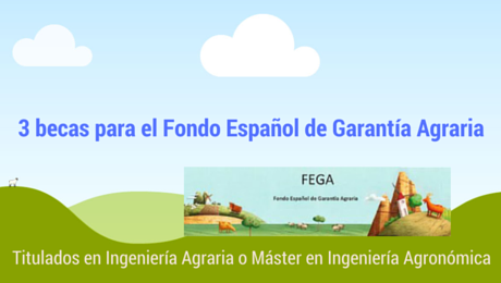 3 becas para el Fondo Español de Garantía Agraria